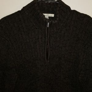 Mens Kenneth Cole Zip Up Sweater
